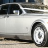 The Silver Rolls Royce Phantom