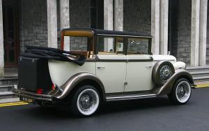 The White 1930s Regent Convertible 3