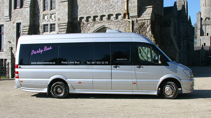 The 18 Seater Party Limo Bus