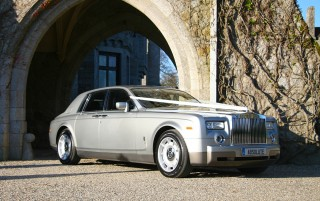 The Silver Rolls Royce Phantom 1 BIG