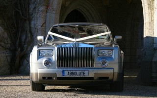 The Silver Rolls Royce Phantom 2 BIG