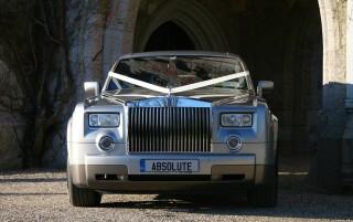 The Silver Rolls Royce Phantom 2 BIG