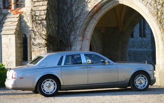 The Silver Rolls Royce Phantom 3 BIG